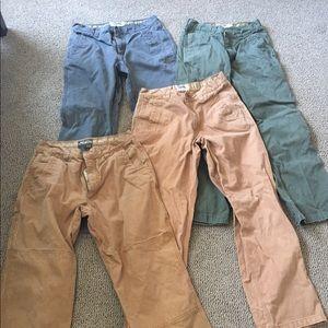 Mountain Khakis Men's Pants (Lot of 4 pair)